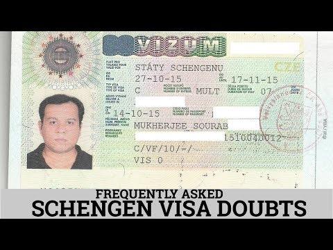 FREQUENTLY ASKED SCHENGEN VISA DOUBTS   शेंगेन वीजा के बारे में प्रश्न   2018