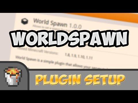 Bukkit plugin setup #001: World Spawn