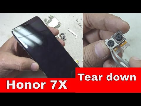 🔧📱Honor 7X Tear Down: How to Replace 📲LCD, Battery, Vibrator, Board etc...