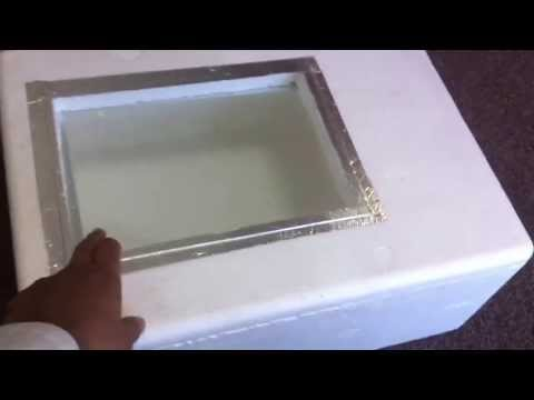 How to build a cheap homemade Incubator with Thermostat - Part 1