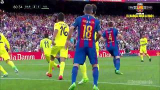FC Barcelona vs Villarreal [4-1][La Liga - Jornada 36][06/05/2017] EL BARÇA JUGA A RAC1