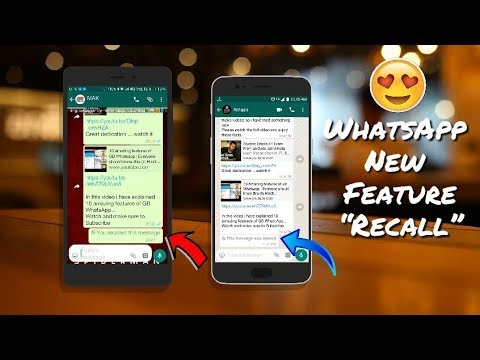 How to Recall / Unsend WhatsApp Messages | New Feature 😎