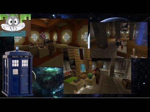 Custom Minecraft TARDIS Showcases