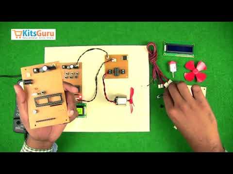 DC motor speed controller USING 8051 by KitsGuru.com | LGEC016 (ENGLISH)