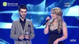 Arab Idol - الأداء - برواس حسين و زوجها - كوران