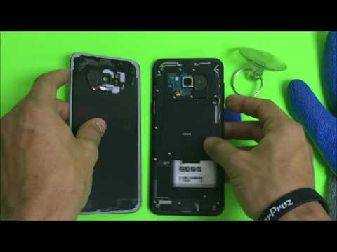 How to Remove the Samsung Galaxy S8+ Back Glass Cover