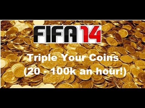 FIFA 14   #8 Amazing Trading Methods - Triple Ur Coins 20 - 100k (An Hour!)