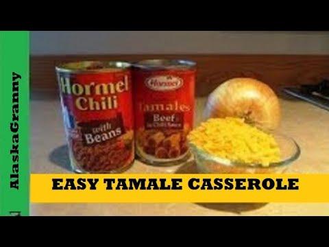 Easy Tamale Casserole