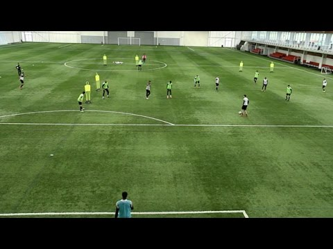 Learn how to play the pressing game | Soccer training drill | Nike Academy