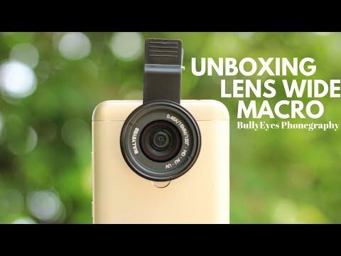 Unboxing Lensa Macro & Ultra Wide BullyEyes | Cocok Buat Smartphone Photography