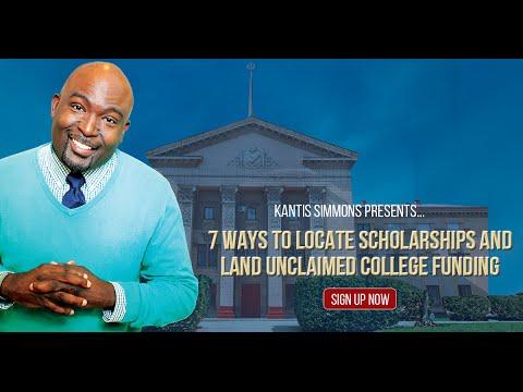 How to Find Scholarships For College - Webinar