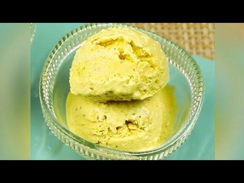 How To Make Thandai Ice Cream at Home | Homemade Thandai Ice Cream Recipe | Indian Ice Cream Recipe
