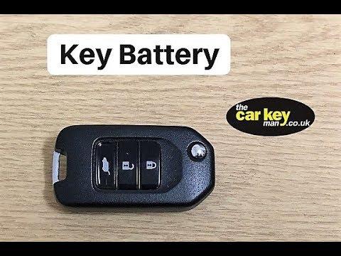 Honda Flip Key HOW TO Change Battery