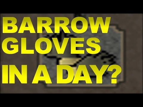 *OUTDATED* Ex Record Barrow Gloves Time! B Gloves First Day Of Account?
