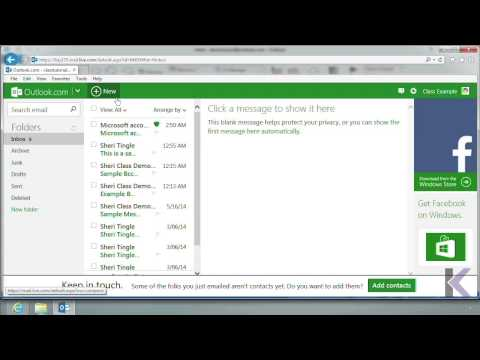 Microsoft Office Outlook 2013: Working with Safe and Blocked Senders List