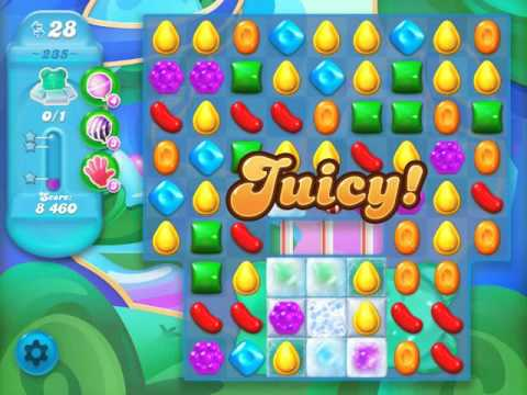 Candy Crush Soda Saga Level 235 (3rd version, 3 Stars)