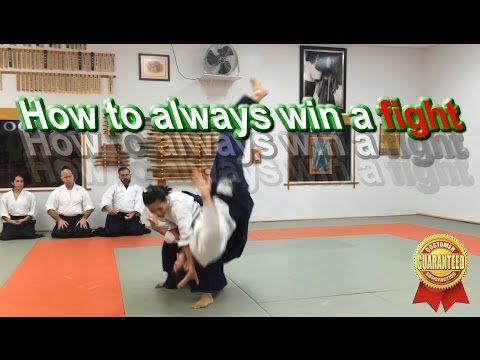 Awesome Aikido Introduction (how to beat a bigger opponent in a street fight)