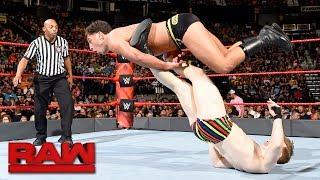 Mustafa Ali & Jack Gallagher vs. The Brian Kendrick & Drew Gulak: Raw, July 17, 2017