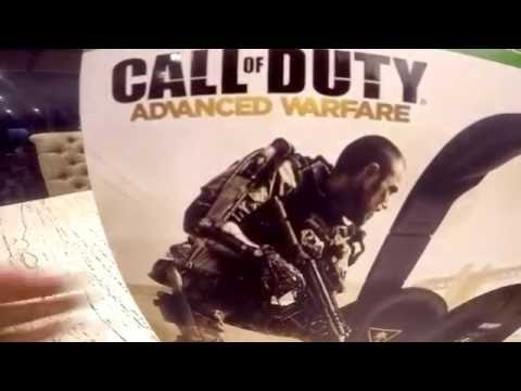 UNBOXING !!!!Turtle Beach Call of Duty Advanced Warfare Taskforce Headset For ...