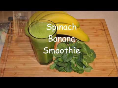 Spinach Banana Smoothie