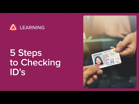5 Steps To Checking ID