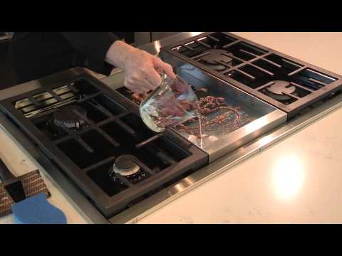 How to clean your Griddle on your stove top