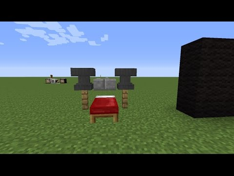 How to make a Bench press in MInecraft Xbox360/XboxOne/PC/PS3/PS4