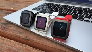 Pebble Time: Managing Watchfaces