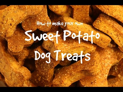 How to make your own Sweet Potato Dog Treats