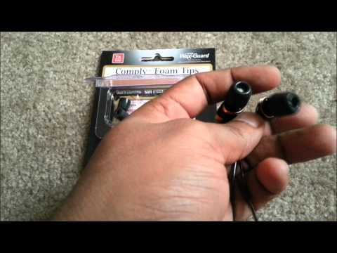 Comply Foam Earphone Tips Tx 100: Unboxing and Review