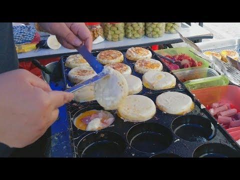 Amazingly Tasty Tender Egg Burger With 12 Selection Options (鸡蛋汉堡)   Egg Bread Burger
