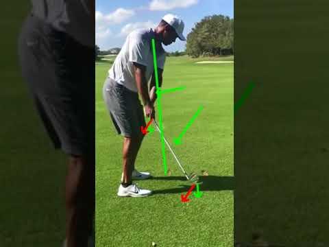 2017 Tiger Woods golf swing - Takeaway