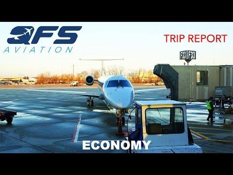 TRIP REPORT   American Eagle - ERJ 145 - Islip (ISP) to Philadelphia (PHL)   Economy