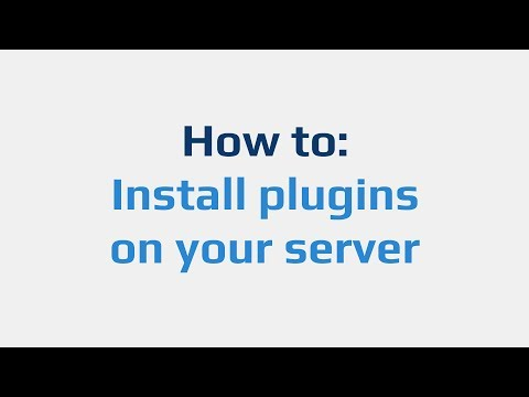 How to: Install plugins on your server