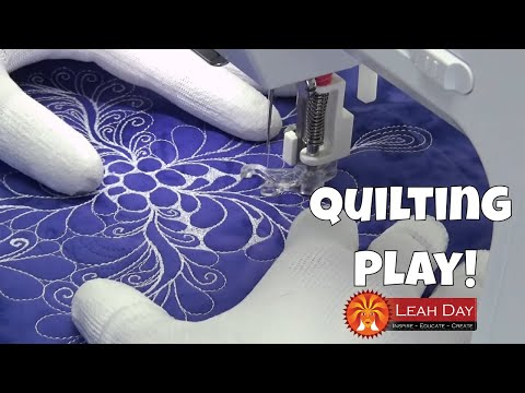 Free Motion Quilting Play with Leah Day - Eversewn Sparrow 20