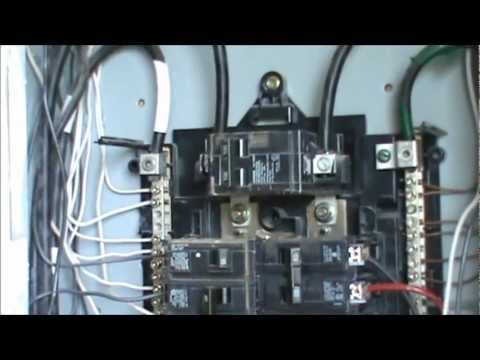 How to wire a 240 volt circuit See Description