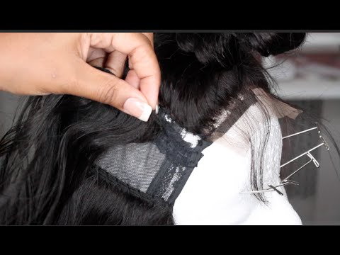 How To Make A Upart Wig with Closure