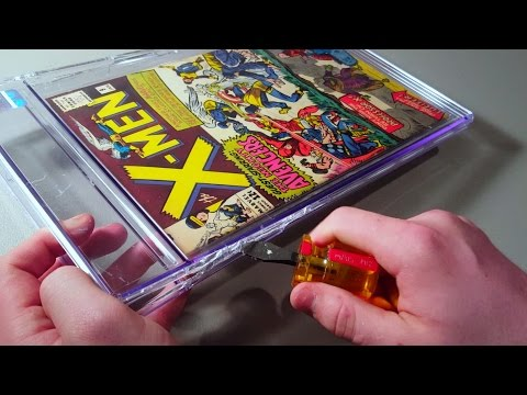HOW TO CRACK OUT A NEW CGC GRADED COMIC - UNSLABBING TUTORIAL