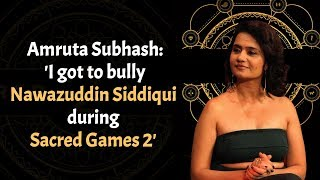 Elnaaz Norouzi and Amruta Subhash talk about the women in Sacred Games 2 | Exclusive | Part 1