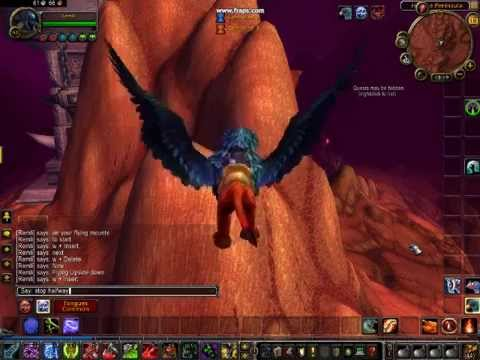 Flying Mount Tricks!
