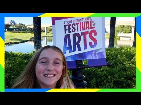 🎨 EPCOT FESTIVAL OF THE ARTS | CHECKING INTO DISNEY SPRINGS HOTEL