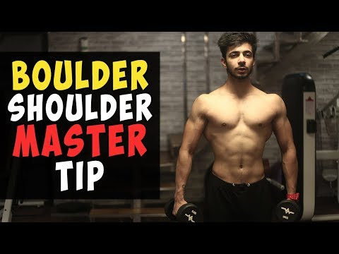 MUST SEE IF YOU WANT TO BUILD MASSIVE SHOULDERS (LIGHT WEIGHTS!) | AESTHETICALLY
