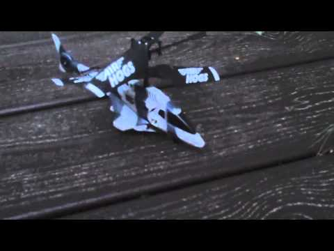 Air Hogs Black Ops Helicopter Review