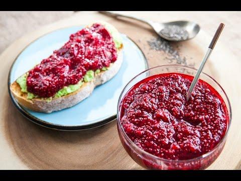 How to Make Low Sugar Raspberry Chia Jam