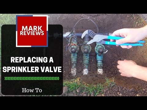 How-To - Sprinkler Valve Replacement