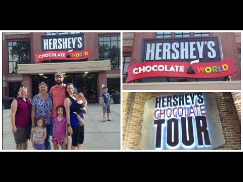 Hershey Chocolate World!! Shop With Me + Full Tour!!