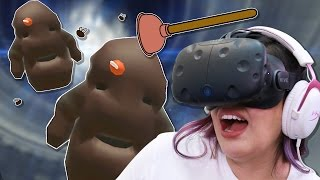 WHEN POO ATTACKS - Pipe Job VR 💩