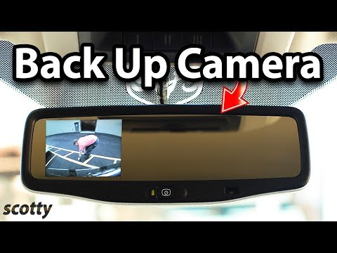 How to Install a Back Up Camera in Your Car