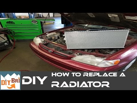 How To Change a Radiator on a Toyota Corolla | Start To Finish