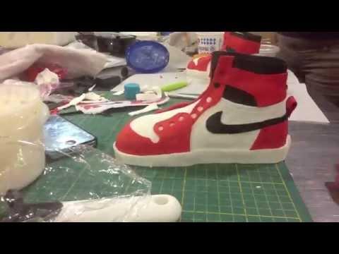 1985 Air Jordan Custom Cake Timelapse